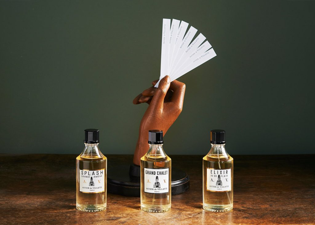 three fragrances by astier de vilatte