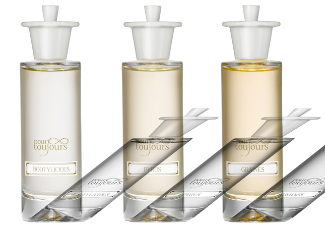 pour toujours perfume collection