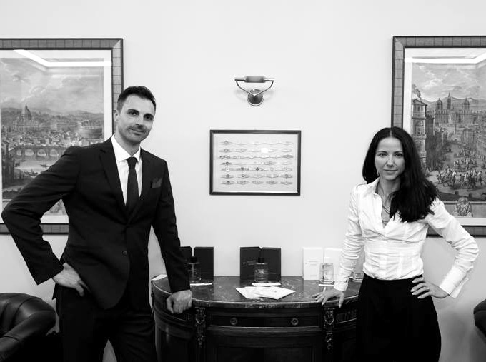 marco and Sonja ciccateri from montecristo perfume