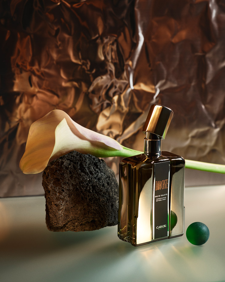 perfume still life by adam goodison: L'Anarchiste by Caron