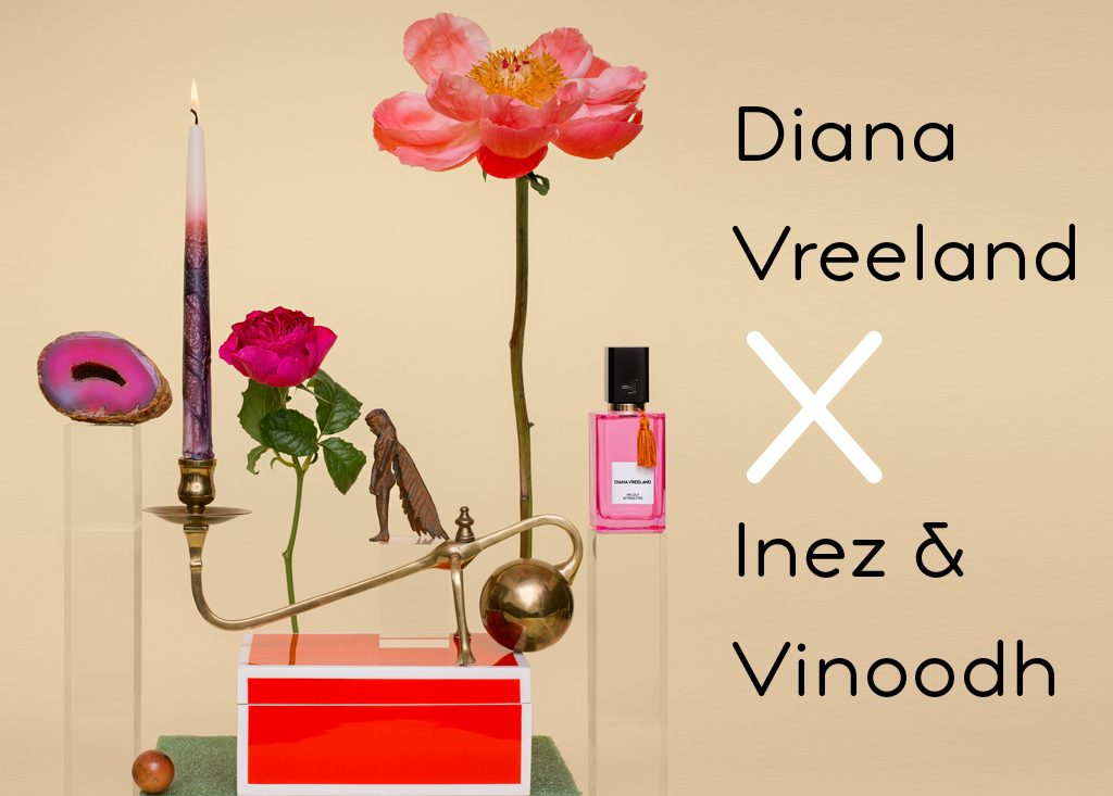 Inez and vinoodh for Diana vreeland parfums