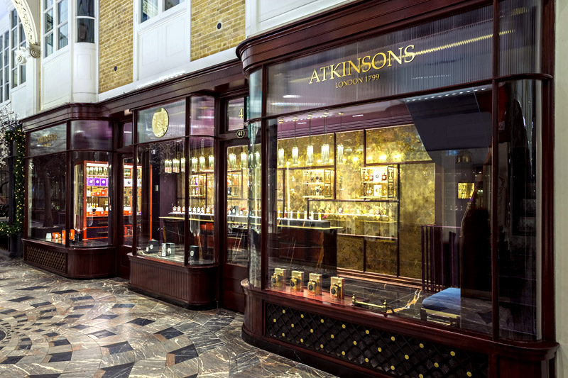 atkinsons store at Burlington arcade