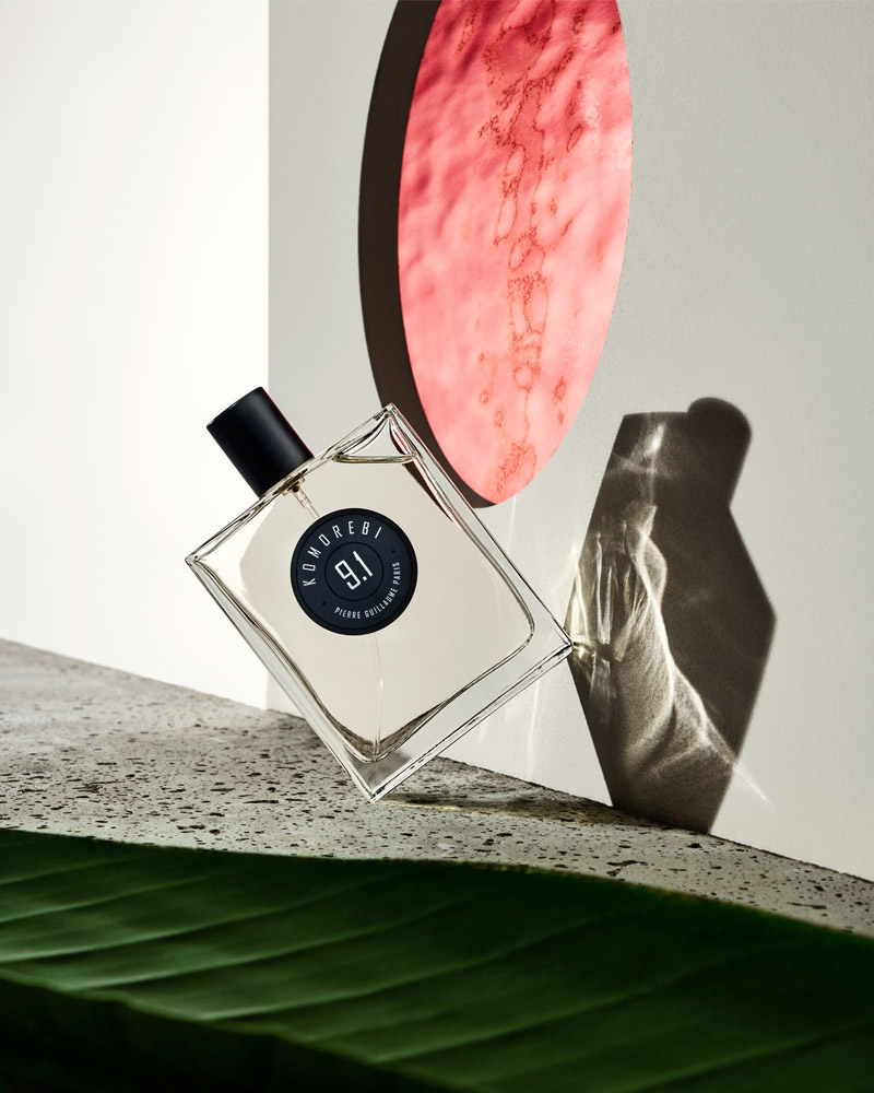 komoren scent by Pierre Guillaumeperfume still life with komorebi by Pierre Guillaume Paris