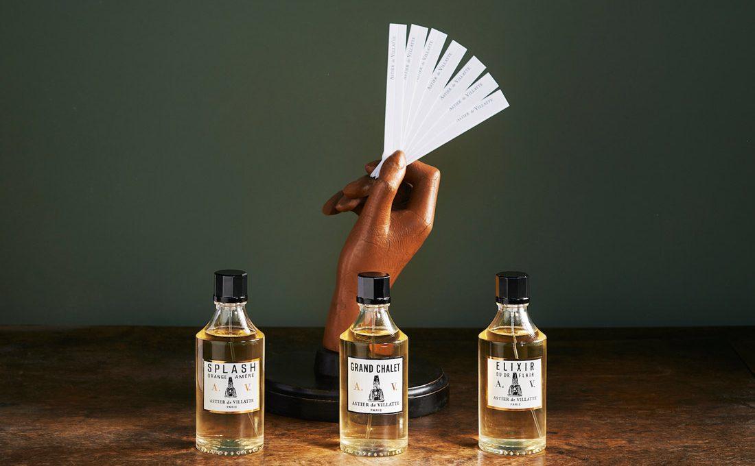 three fragrances by astier de vilatte