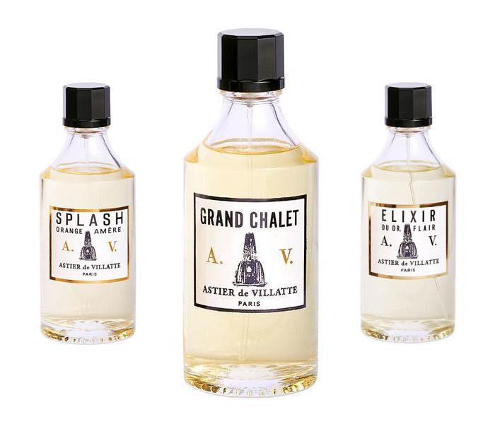 astier de vilatte new perfumes
