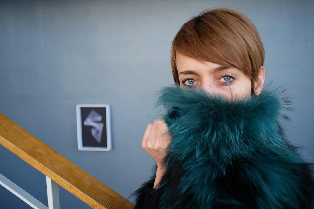 portrait of akkesoir accessories designer akke aimaq
