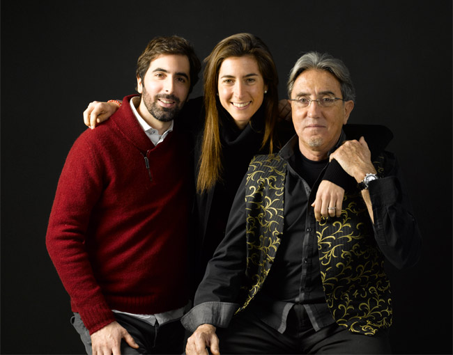 ramon monegal with laura and oscar