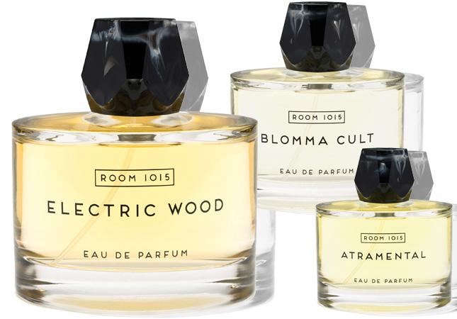 three fragrances by room 1015