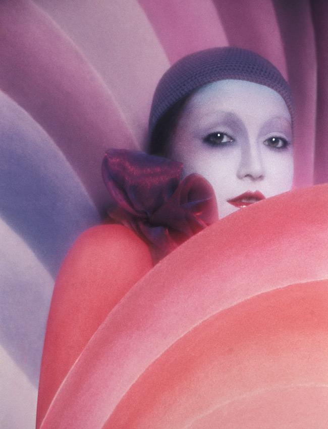 serge lutens makeup editorial shoot 1972