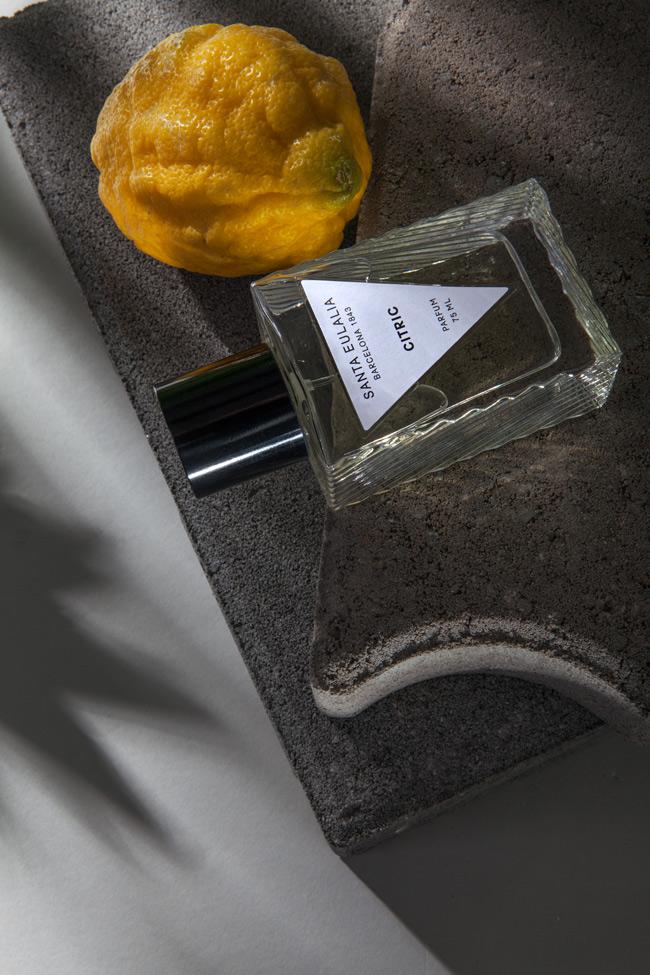 summer perfumes citric by santa eulalia