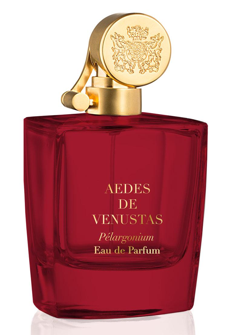 top 5 esxence perfumes: pélargonium by aedes de venustas