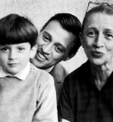 alexander vreeland with grandmother diana and father fredrick