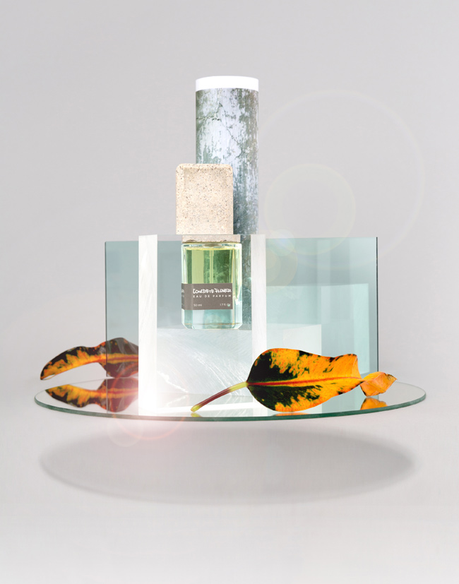 concrete flower by atelier pmp summer escentials