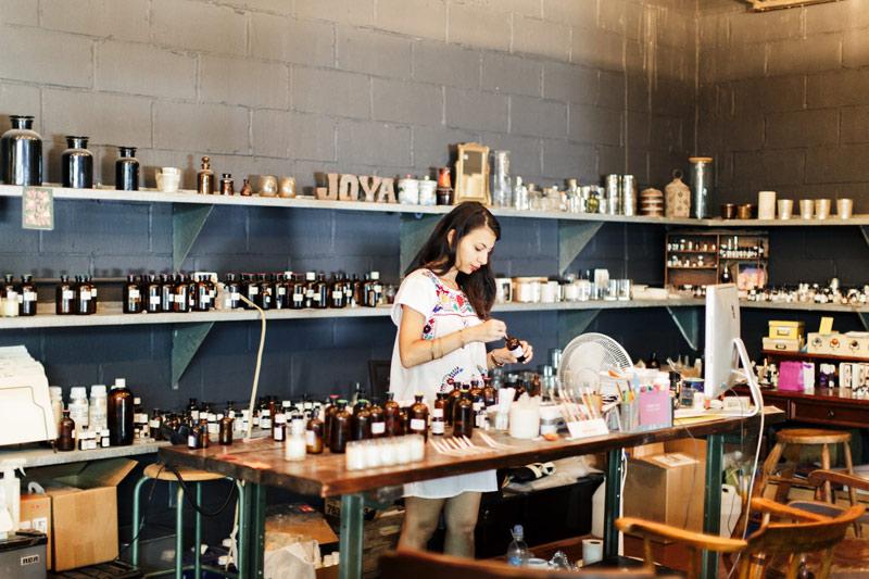 perfumer dana el masri at joya studio
