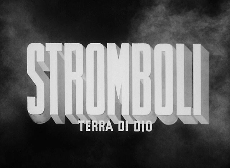 movie title stromboli roberto rossellini