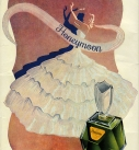 vintage perfume collage david redon