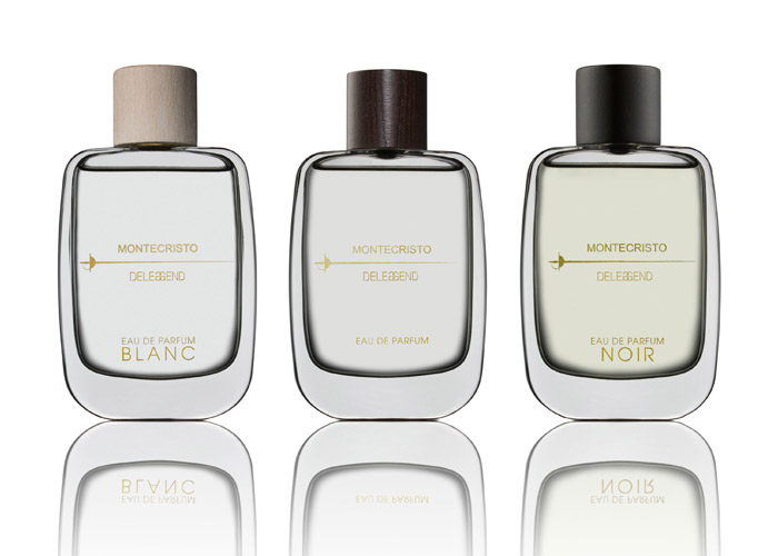 montecristo perfumes edeleggend, blanc, noir