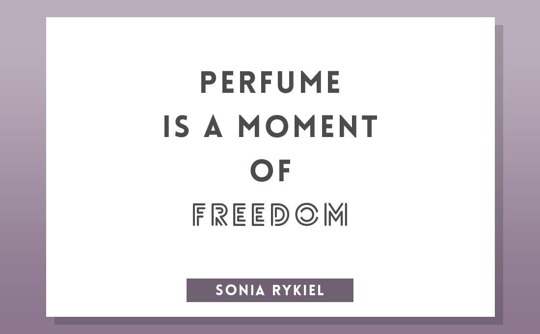 perfume quote sonia rykiel