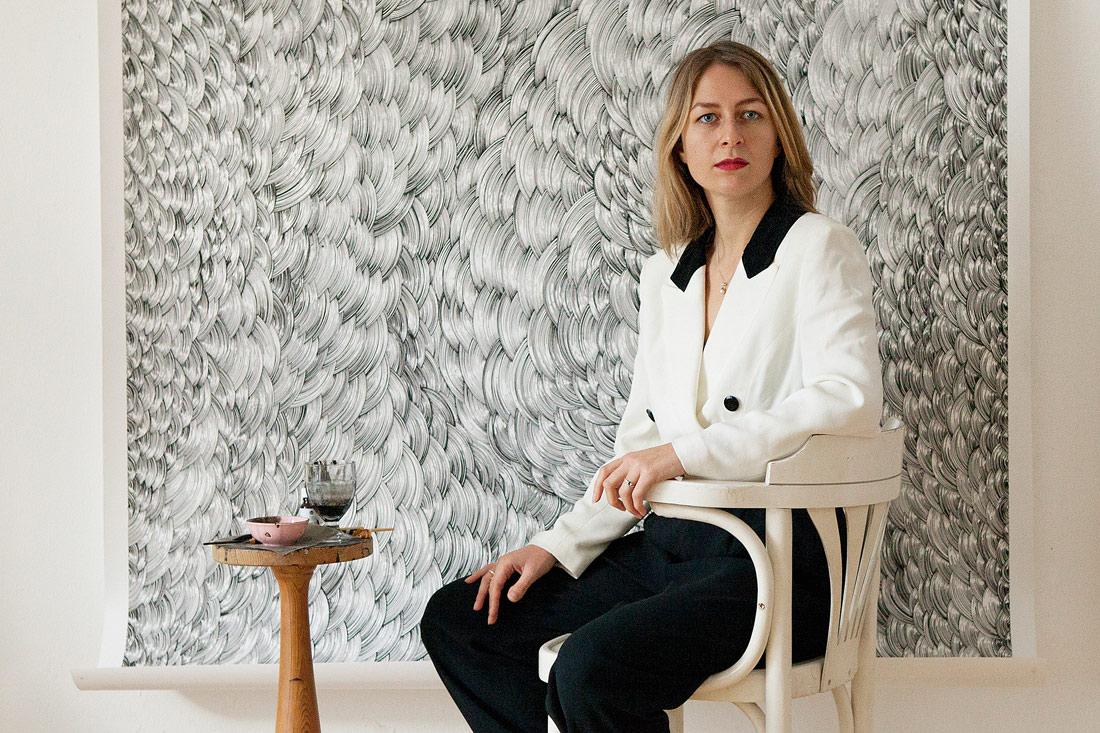 Bettina Krieg by Franziska Taffelt
