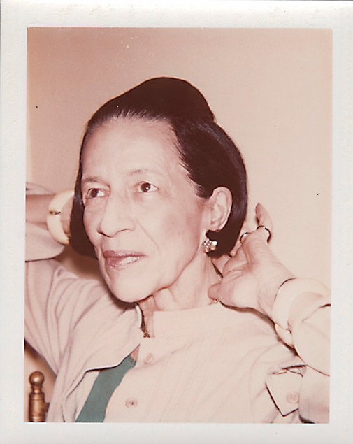 Diana Vreeland by Andy Warhol