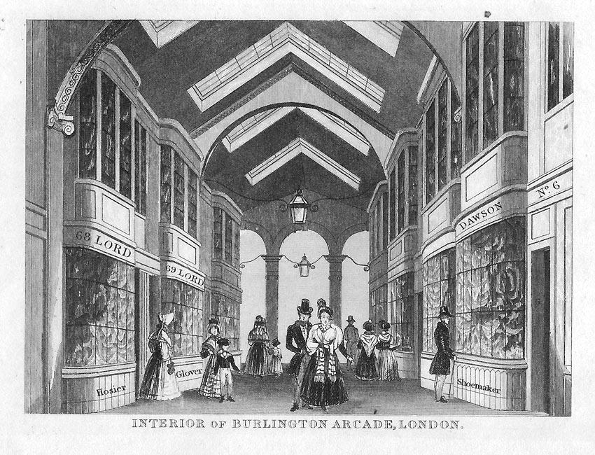 Burlington Arcade london