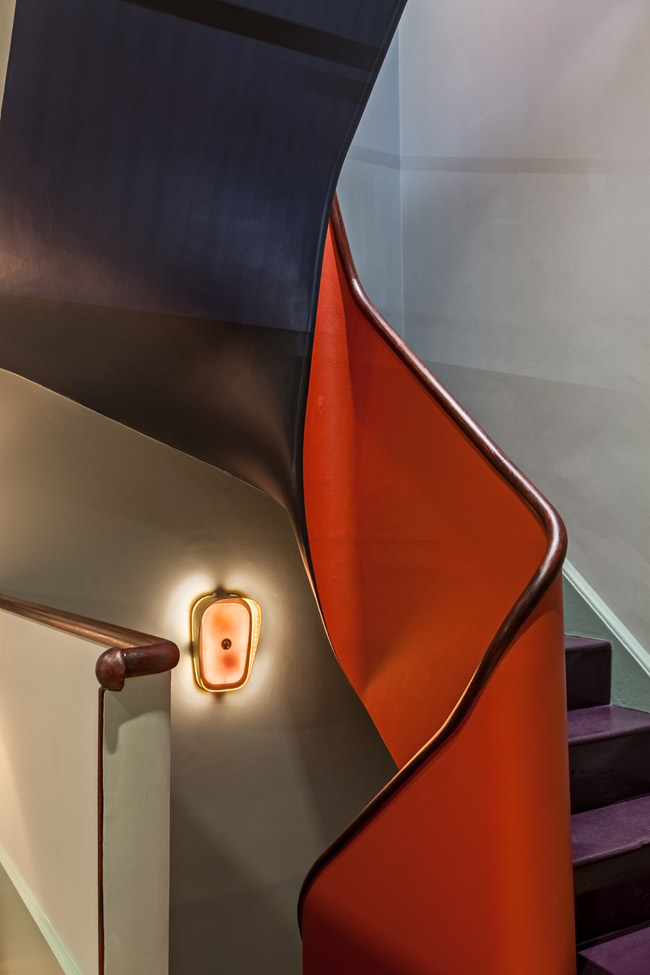 stairway at atkinsons flagship store