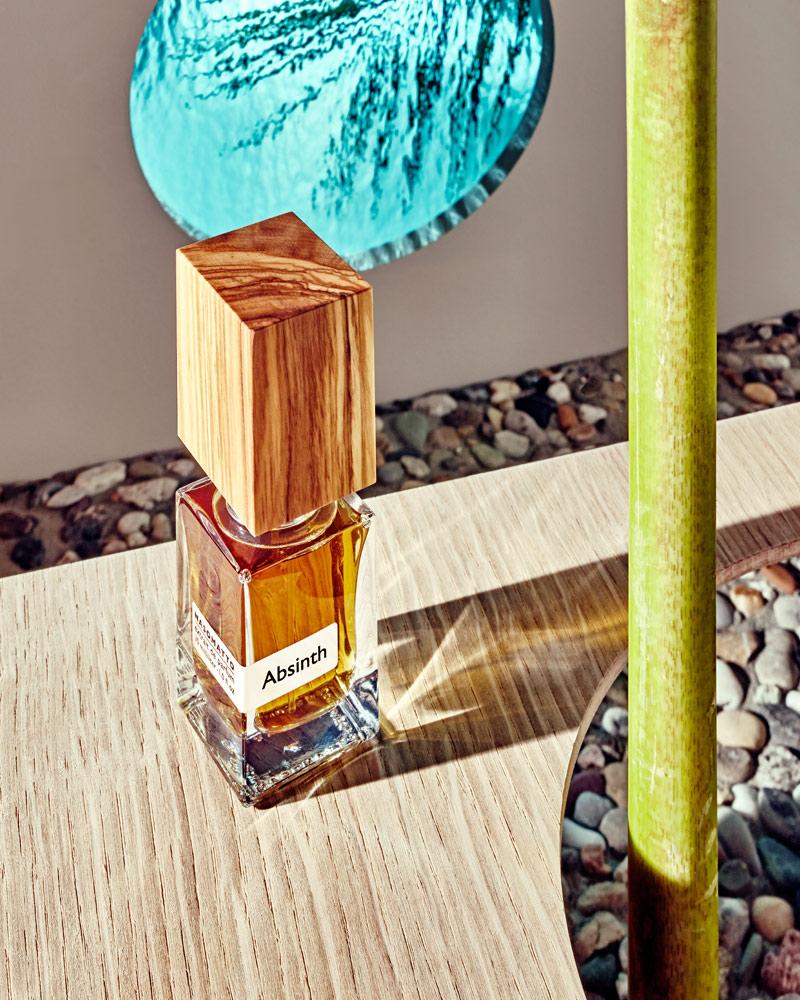 perfume still life absinth by nasomatto