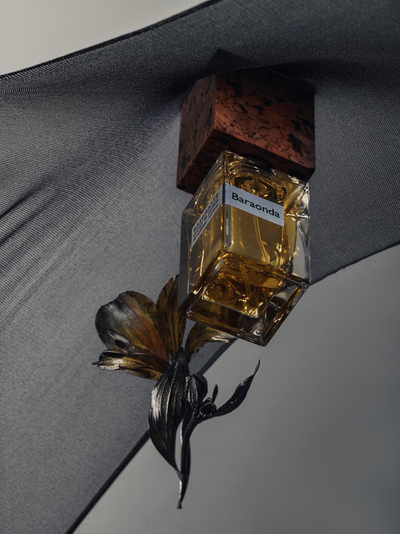 before sunrise: perfume editorial with baraonda by nasomatto