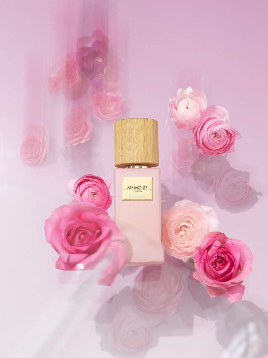 rose luxuria scent by memoize London