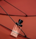 perfume editorial with green spell by eras perfumes